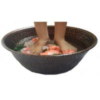 Copper Vein Foot Massage Pedicure Bowl