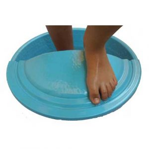 Blue Sky Foot Massage Beauty Salon Bowl + foot Rest