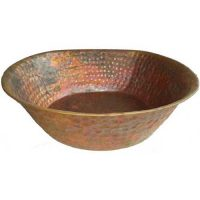 Egyptian Artisans Foot Massage Copper Pedicure Therapy Bowl