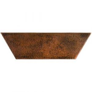 Rectangle Women Copper Kitchen Sink