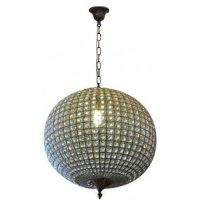 crystal ball orbit chandelier