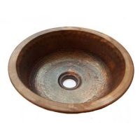 Restroom Sink Round Pan Panning Copper Bowl Upgrading