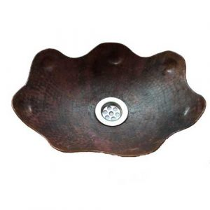 Artistic Copper Vessel Sink Artistic Oval Bowl
