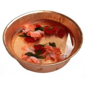 Polished Copper Foot Massage Pedicure basin