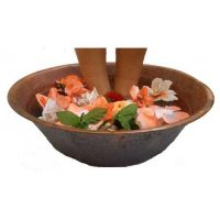 Rustic Body Beauty Care Fitness Copper Foot Massage Basin