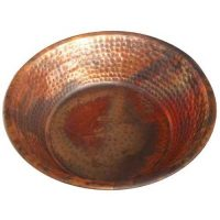Red Copper Foot Therapy Massage Spa Resort Bowl