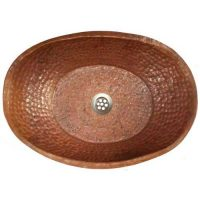 Bathtub Bath Tub Rustic Copper Vessel Sink