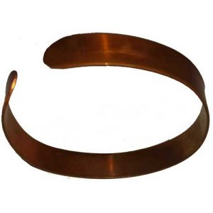 Pure Copper Wristband Thin Bracelets Healer Relief Sports Therapy