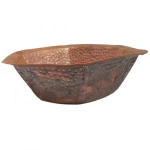 Diabetic Foot Soaking Hexagon Copper Basin