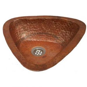 Bathroom Sink Triangle Copper Sink House Architectural Repair