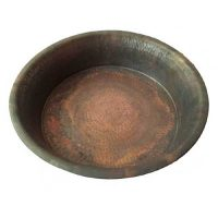 Feet Toe Soak Shallow Copper Therapy Massage Spa Copper Basin