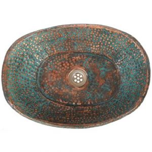 Bathtub Oxidization Art copper Bathtub Sink