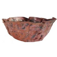Small Rustic Decor Artistic Vessel copper Bathroom Sink Lavatory Bowl