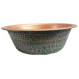 Foot Bath Manicure Spa Copper Bowl Pedicure Tub