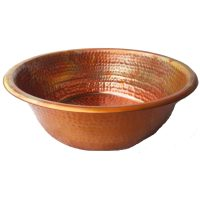 Foot Odor Removal Soaking Rainbow Natural Copper Basin