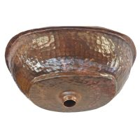 Oil Rubbed Copper Vessel Sink Bathtub Bathroom Renovation