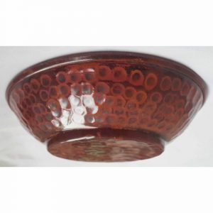 Mini Decorative Hand Hammered Copper Bowl