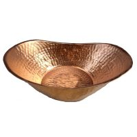 Copper Hand Crafted Bathtub Fruit Bowl