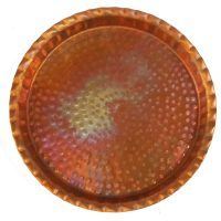 Hammered Copper Oven Tray Pan for Sweets and Baklava Baklaw Wife Gift Kitchen Cookware